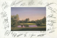Autographs PGA Tour player | BMW International Open 02