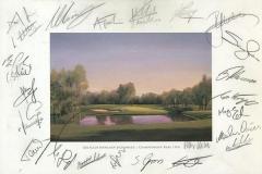 Autographs PGA Tour player | BMW International Open 02