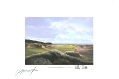 Original autograph on FineArt print. Colin Montgomerie | GC Budersand Sylt | 17th