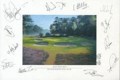Autographs PGA Tour player | KLM Open 2012 01