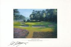 Kaymer_hilversum_print_webOriginal autograph on FineArt print. Martin Kaymer | Hilversumsche Golf Club | KLM Open 2010
