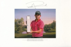 Original autograph on FineArt print. Pablo Larrazábal | Golfclub München Eichenried | 11th BMW International Open