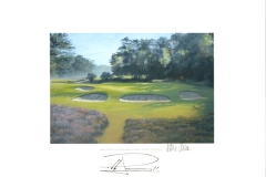 Original autograph on FineArt print. Pablo Larrazábal | Hilversumsche Golf Club | 11th KLM Open