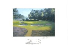 Original autograph on FineArt print. Pablo Larrazábal | Hilversumsche Golf Club | 11th KLM Open