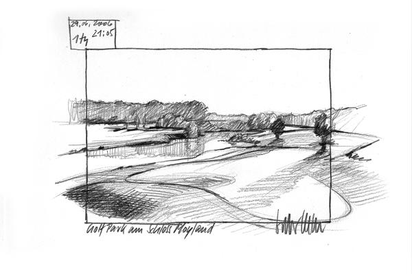 Golf International Moyland 1th