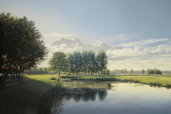 Golfclub Issum Niederrhein 14th