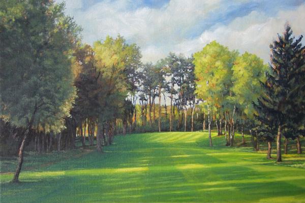 Golfanlage Uhlenberg-Reken 13th