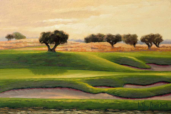 Golf Club Son Gual Mallorca, Lightstudy 17th