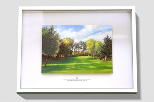 FineArt-Print in Objektrahmen als Geschenk für ein Club Mitglied